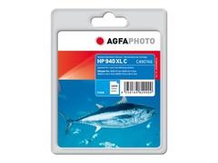 AgfaPhoto 24 ml - Cyan - Tintenpatrone (Alternative zu: HP 940XL, HP C4907AE)