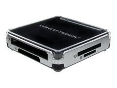 Conceptronic All-In-One Card Reader - Kartenleser - All-in-one (Multi-Format)