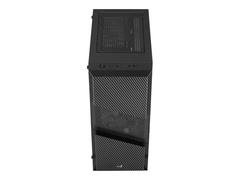 AEROCOOL ADVANCED TECHNOLOGIES AeroCool Menace Saturn FRGB v1 - Tempered Glass Edition - Tower - ATX - ohne Netzteil (ATX)