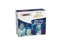 EMTEC 5 x BD-RE - 25 GB 2x - Silber - Jewel Case (Schachtel)