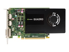 HP NVIDIA Quadro K2200 - Grafikkarten - Quadro K2200 - 4 GB GDDR5 - PCIe 2.0 x16 - DVI, 2 x DisplayPort - für Workstation Z240 (MT, Tower)