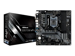 ASRock Q370M vPro - Motherboard - micro ATX - LGA1151 Socket - Q370 - USB 3.1 Gen 1, USB-C Gen2, USB 3.1 Gen 2 - Gigabit LAN - Onboard-Grafik (CPU erforderlich)