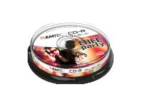 EMTEC Classic - 10 x CD-R - 700 MB (80 Min) 52x