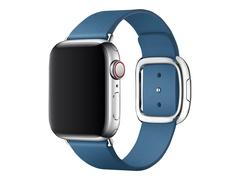 Apple 40mm Modern Buckle - Uhrarmband für Smartwatch - Large - Cape Cod Blue - für Watch (38 mm, 40 mm)